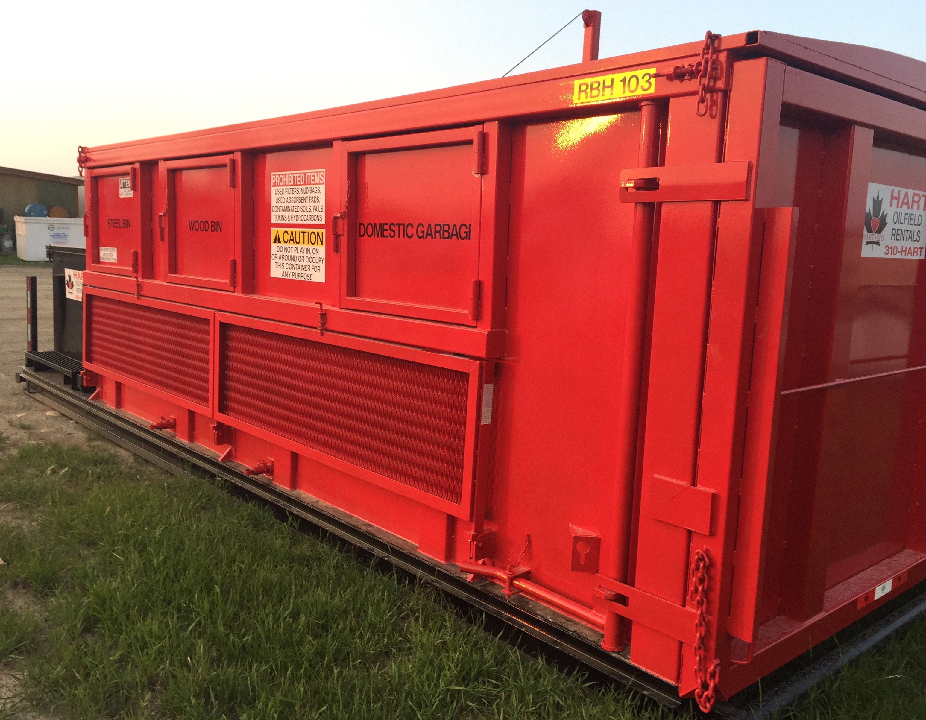 Home hart oilfield rentals one stop shop for all oilfield lease needs alberta equipment - Container homes alberta ...